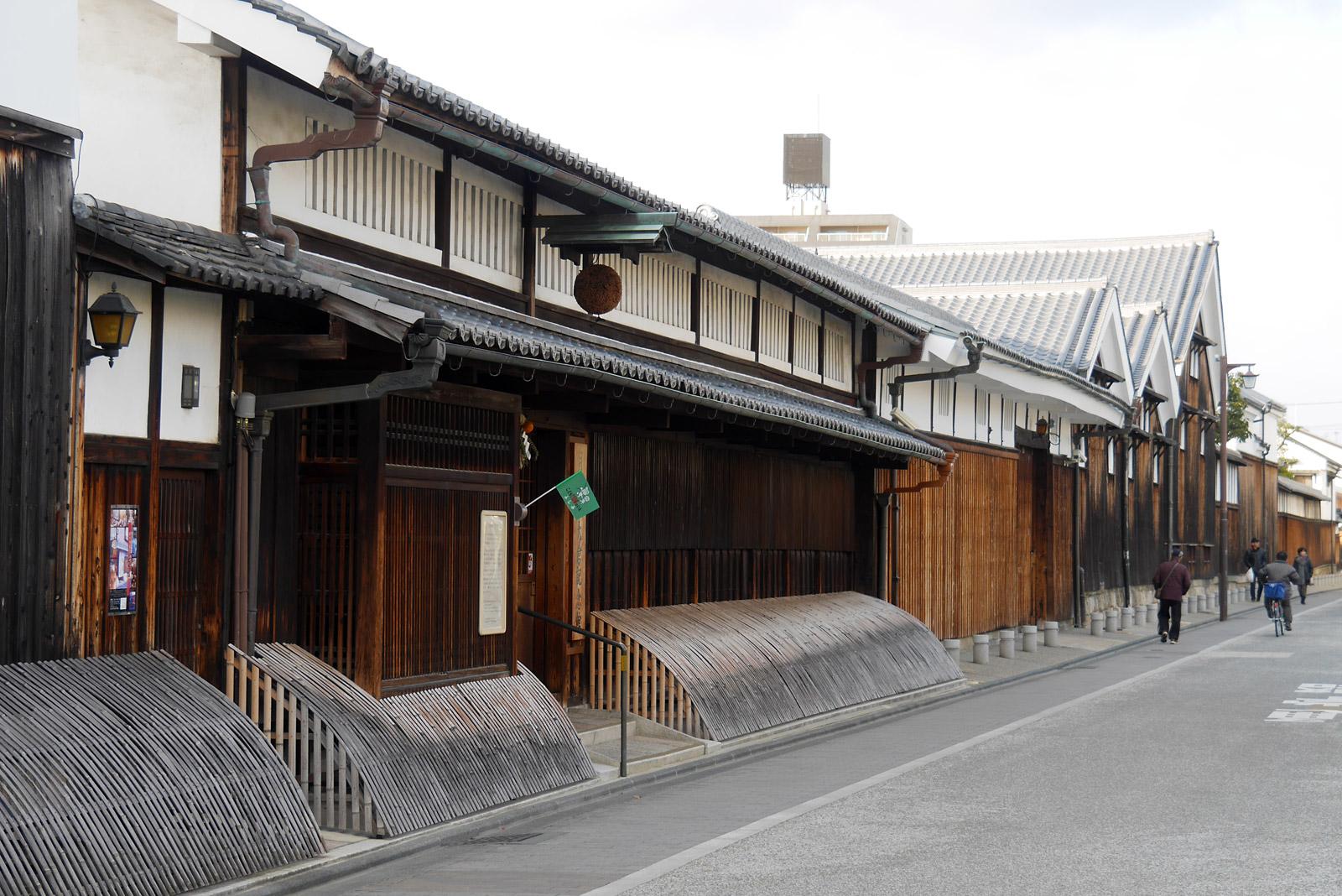 京都伏見の酒蔵めぐり