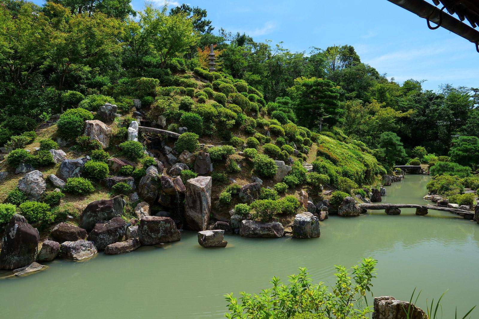 廬山の縮景 智積院庭園