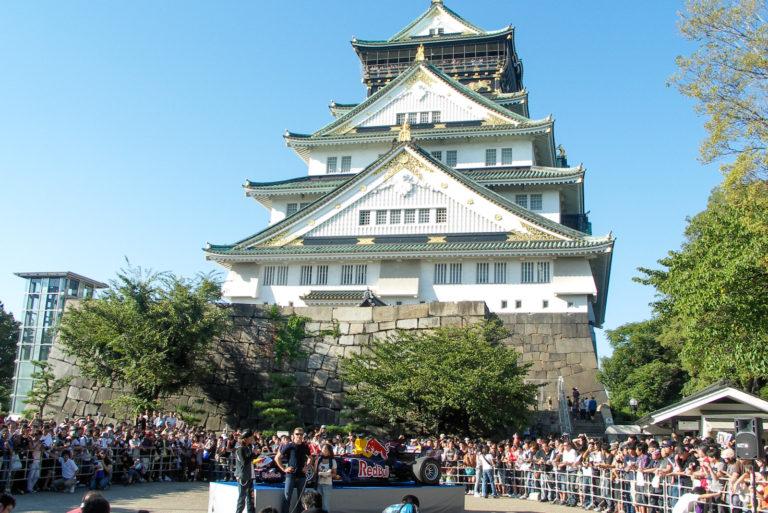 クルサード in 大阪城